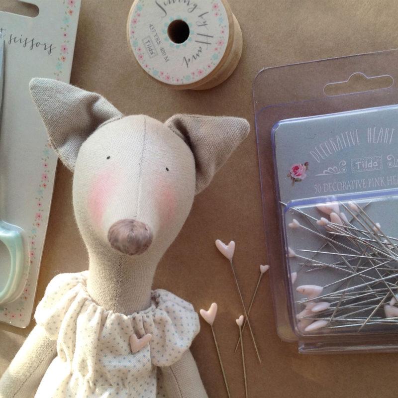 Tilda Hautstoffe / Puppenzubehör