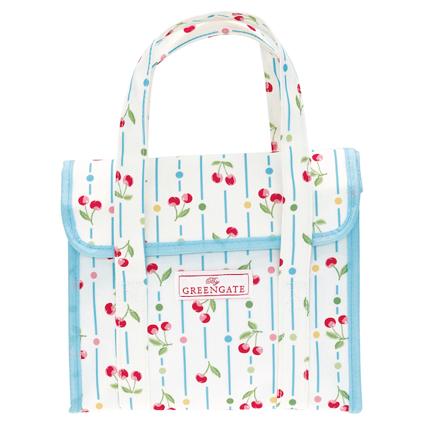 GreenGate Lunchbag, Cherry white