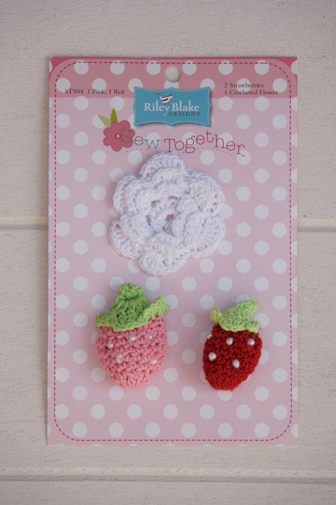 Häkel Set, Erdbeeren