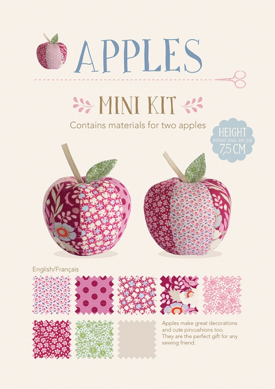 Tilda Material-Set, Apples, 2er-Set