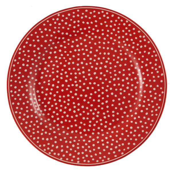 GreenGate Teller, Dot red, M