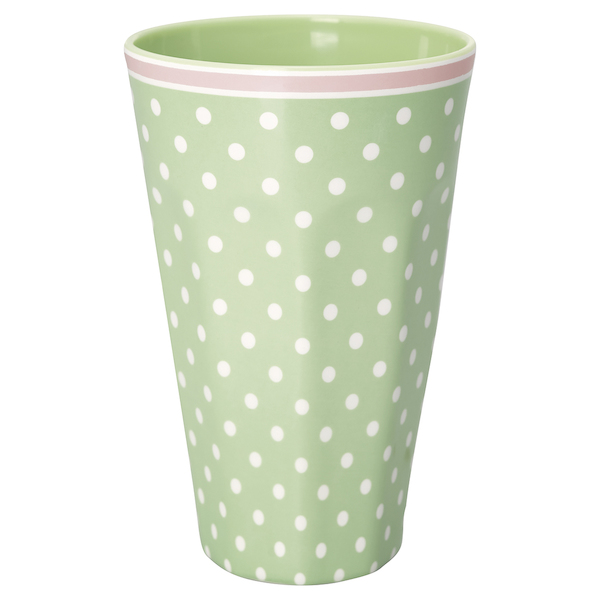 GreenGate Becher Cherry berry green hoch