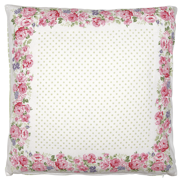 GreenGate Kissen Rose white piece printed 50x50