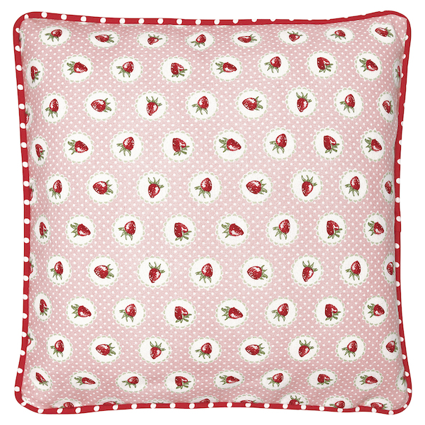 GreenGate Kissen Strawberry pale pink