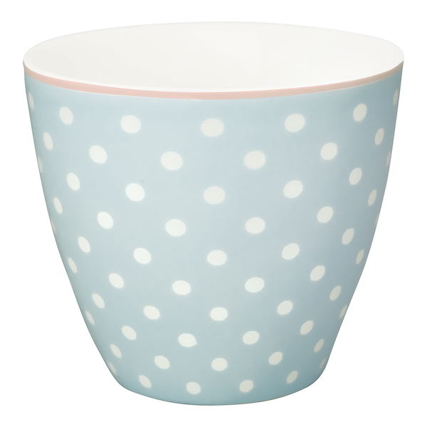 GreenGate Latte Cup Spot pale blue