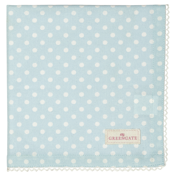 GreenGate Serviette Spot pale blue