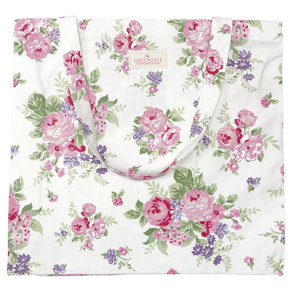 GreenGate Shopper Rose white