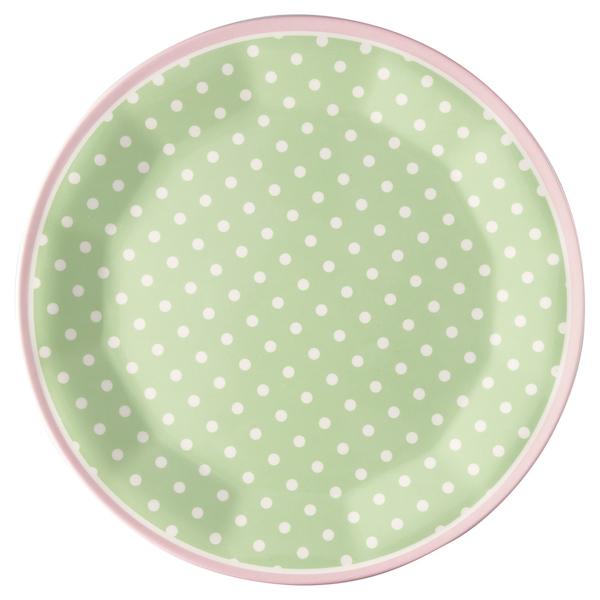 GreenGate Teller Spot pale green, Melamin
