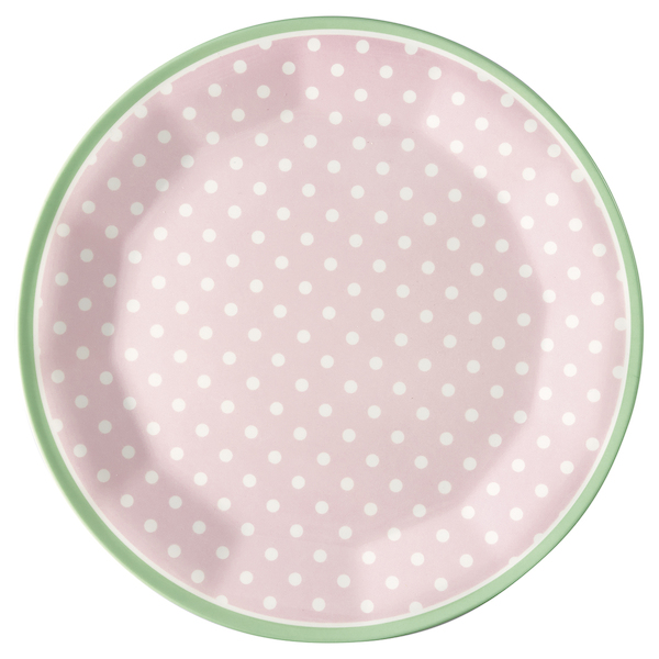 GreenGate Teller Spot pale pink, Melamin