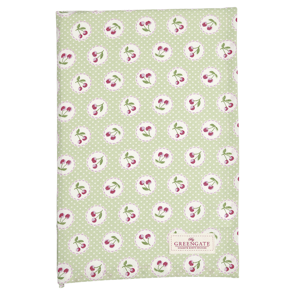 GreenGate Tischtuch Cherry berry green