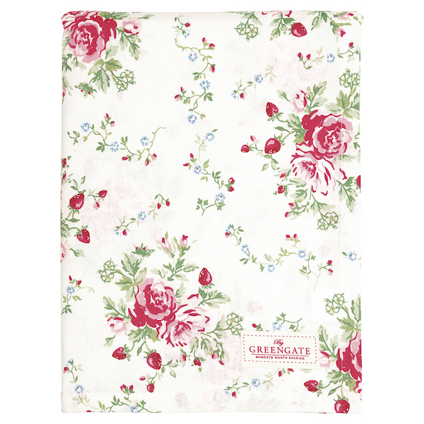 GreenGate Tischtuch Mary white