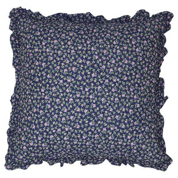 Kissen Berta dark blue 50x50