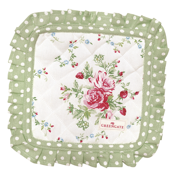 GreenGate Topflappen Mary white
