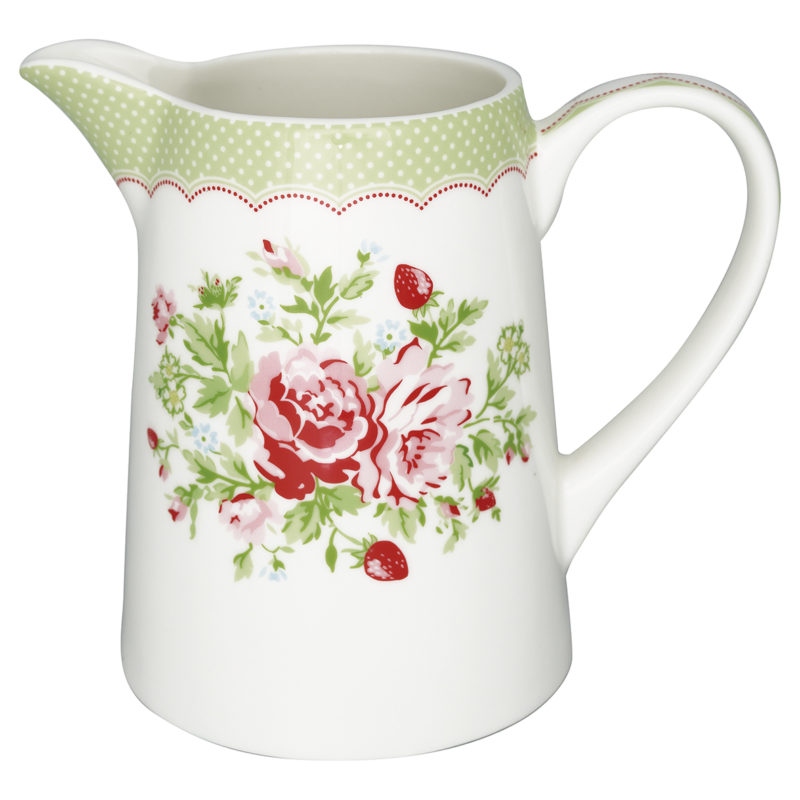 GreenGate Kanne Mary white