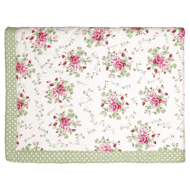GreenGate Quiltdekce Mary white