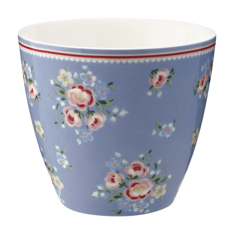 GreenGate Latte Cup, Nicoline dusty blue