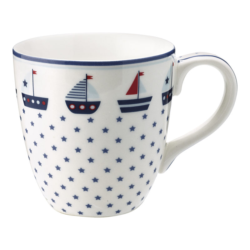 GreenGate Tasse, Noah blue