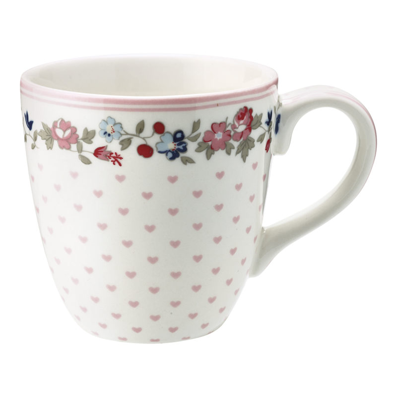 GreenGate Tasse, Ruby petit white