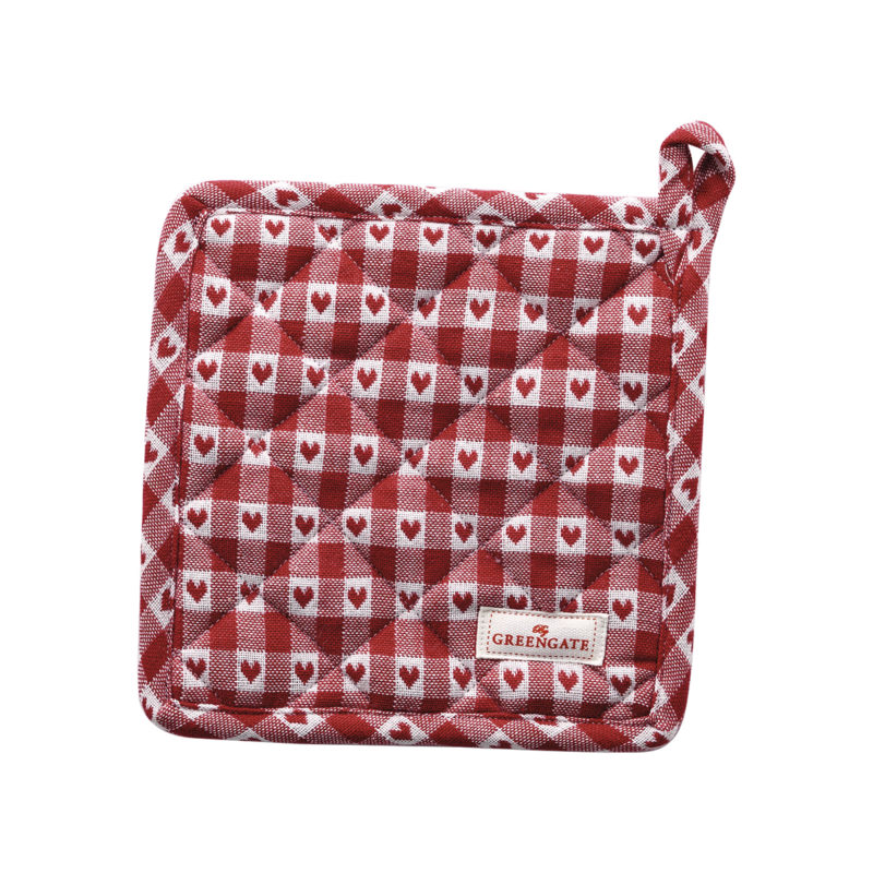 GreenGate Topfhalter, Heart petit red