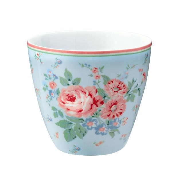 GreenGate Latte Cup Marley pale blue, Limited Edition