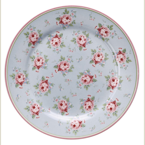 GreenGate Teller, Marley pale blue, limited Edition