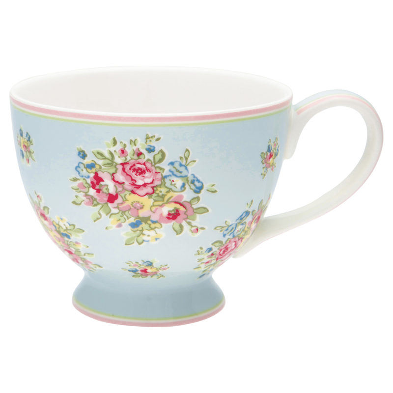 GreenGate Tasse XL Franka pale blue