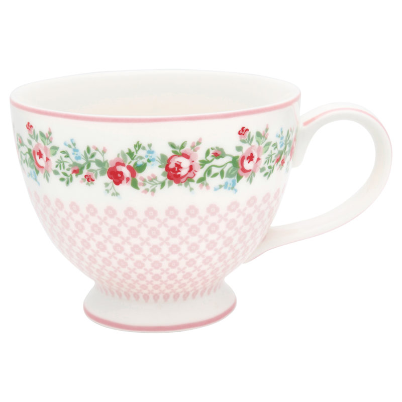 GreenGate Tasse XL, Gabby white